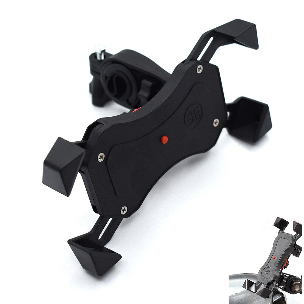 Soporte Universal para teléfono móvil de motocicleta, Cargador USB, soporte para teléfono móvil Suzuki Hayabusa GSX1300R SV1000 SV1000S TL1000R