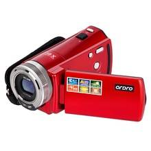 Digital Video Kamera 720P HD ORDRO DV-108 16X Camcorder Mini Portable Video Recorder Vlogging Kamera