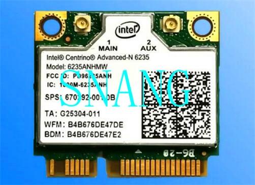 Intel centrino advanced-n 6235 de 6235anhmw wifi wlan bluetooth 4,0 cartão 05k9gj