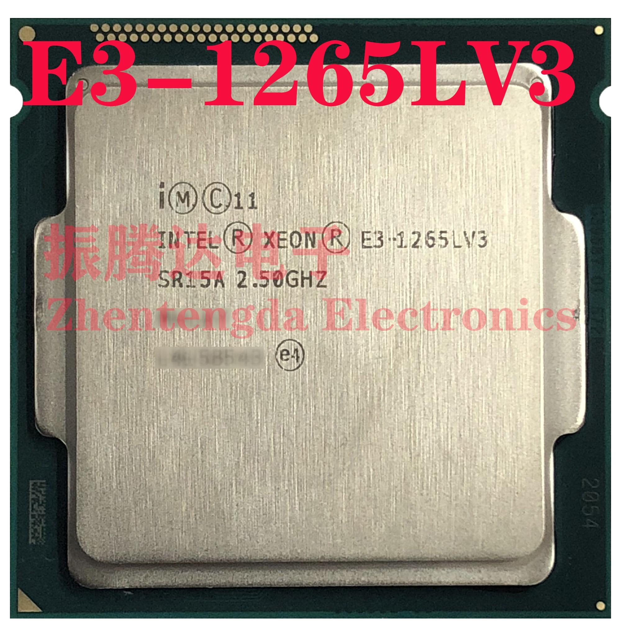 Intel Xeon E3-1265L v3 2.5GHz 8MB 4 Core 8 Thread LGA 1150 E3-1265Lv3 CPU Processor