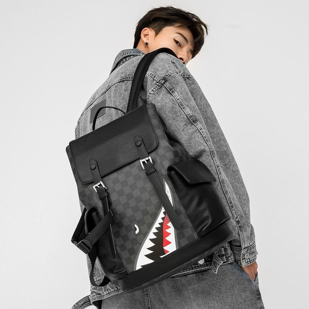 Novo 2020 masculino mochila multi-bolso mochilas de alta capacidade estudante packsack computador saco para dropshipping moda ao ar livre