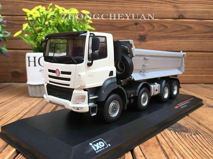 Modelo de aleación coleccionable IXO 143 báscula Tatra Phoenix 8X8 camión volquete maquinaria vehículos Diecast juguete modelo Decoración