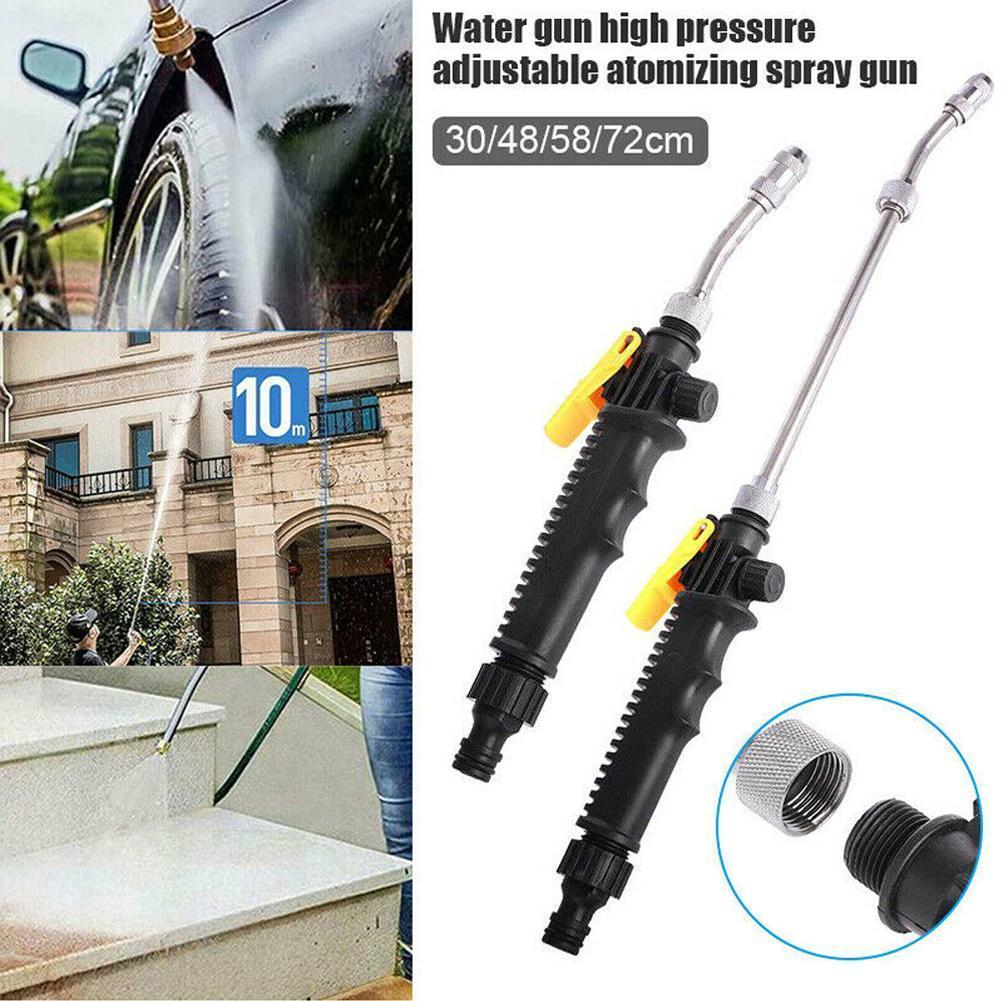 Pistola de água de alta pressão, pistola de água de alta pressão para lavagem e limpeza, máquina de lavar carro, condicionado, ferramenta de ar, spray, limpeza, espuma f7m9