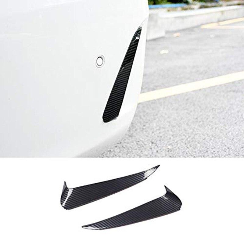 Alerón para parachoques trasero, ventilación de aire, cubierta de moldura de salida, accesorios de diseño de coche para Mercedes Benz Clase E Coupe C238 (fibra de carbono)
