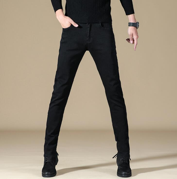 Top Quality Comfort Denim Men's Stretch Straight Fit Jeans Popular Stylish Long Pants