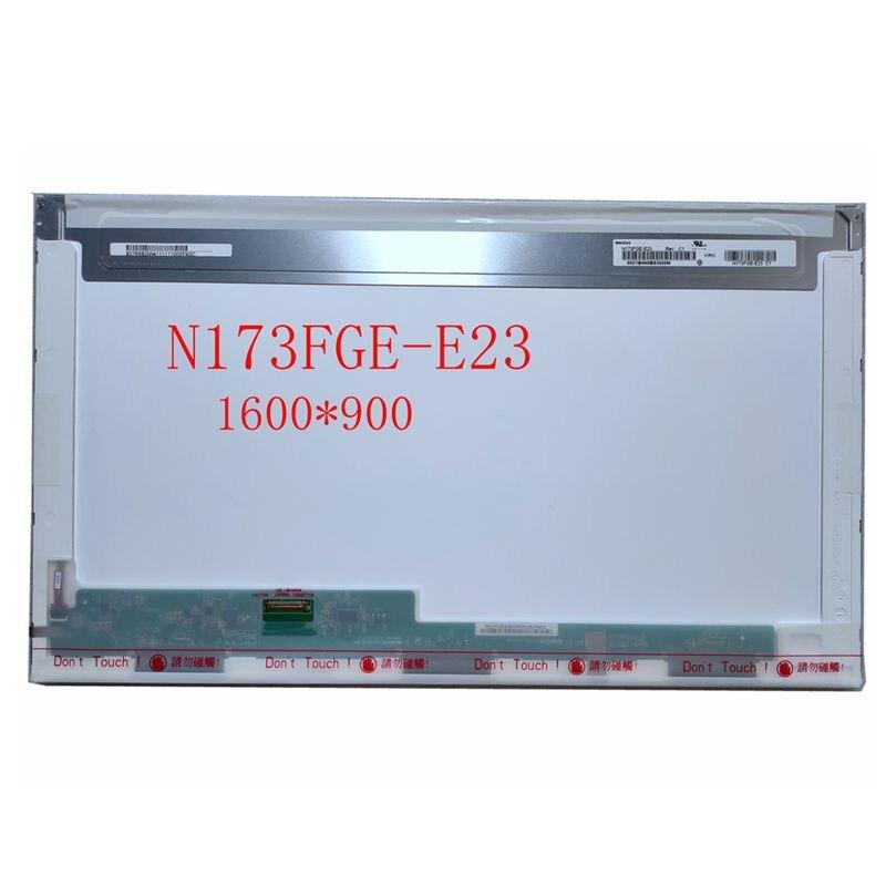 N173FGE-E23 B173RTN01.1 LP173WD1-TPE1 شاشة LED شاشة LCD مصفوفة لأجهزة الكمبيوتر المحمول 17.3