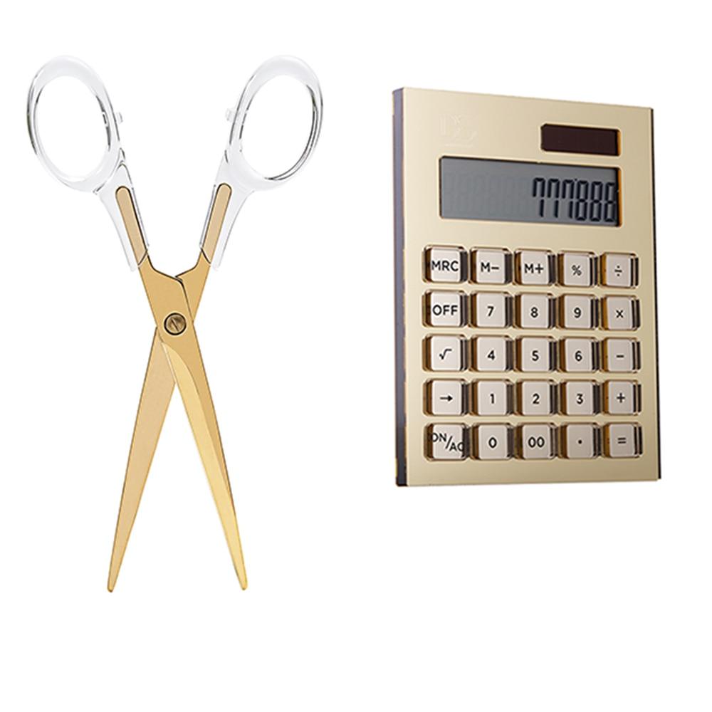 Acrylic Scissors  Sewing Scissors Acrylic  Solar Energy Calculator office accessories