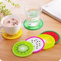 silicone dining table placemat coaster kitchen accessories mat cup bar mug drink pads slice cup mat coaster tea coffee