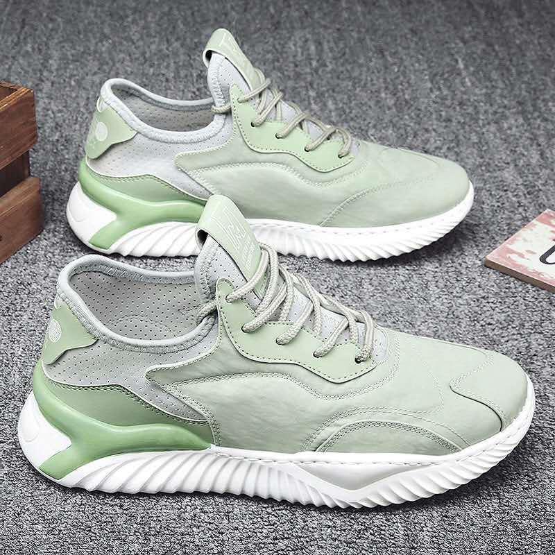 2021 новые модные мужские повседневные кожаные кроссовки легкая студенческая спортивная обувь