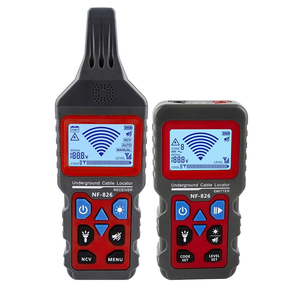 Localizador de cables portátil NF-826, localizador de líneas telefónicas práctico, Detector de...