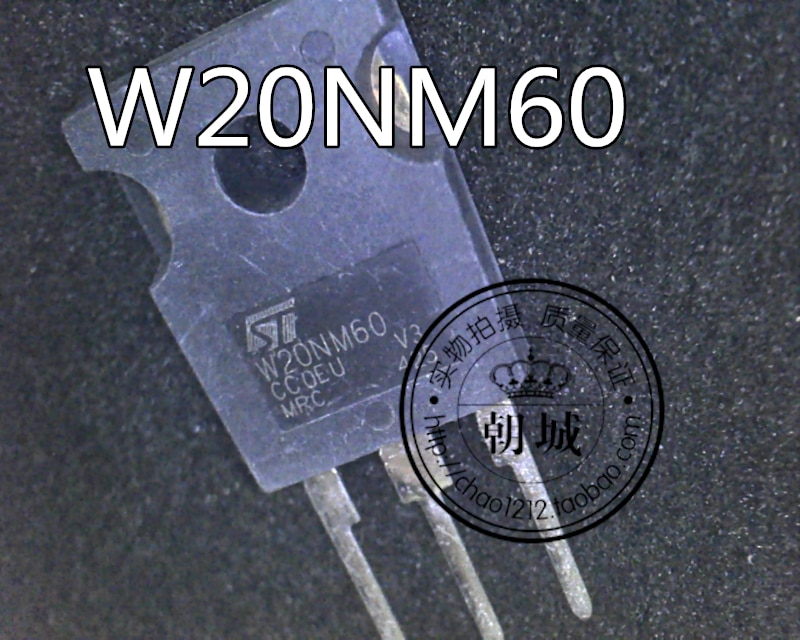 5pcs/lot   STW20NM60 W20NM60 TO-247