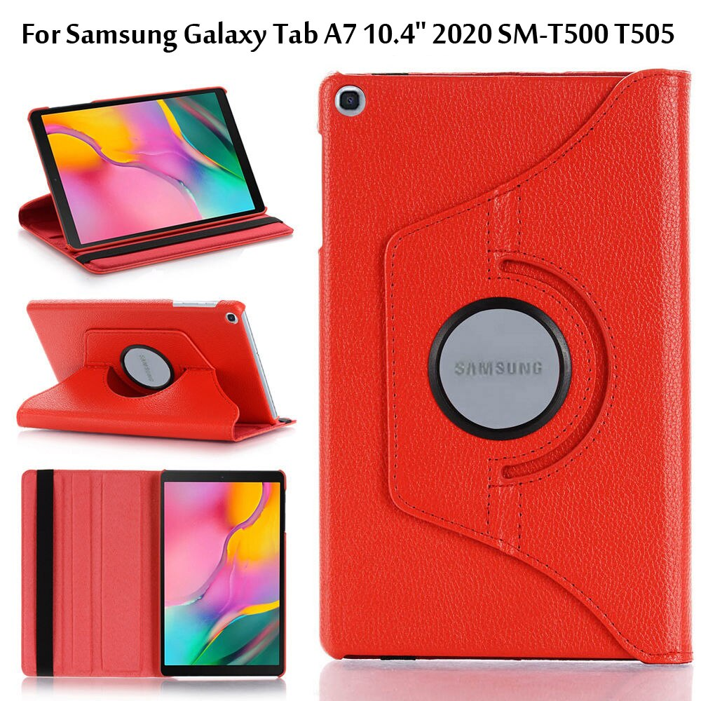Case For Samsung Galaxy Tab A7 10.4 2020 T500 T505 SM-T500 SM-T505 10.4 inch PU Leather Folding Cover
