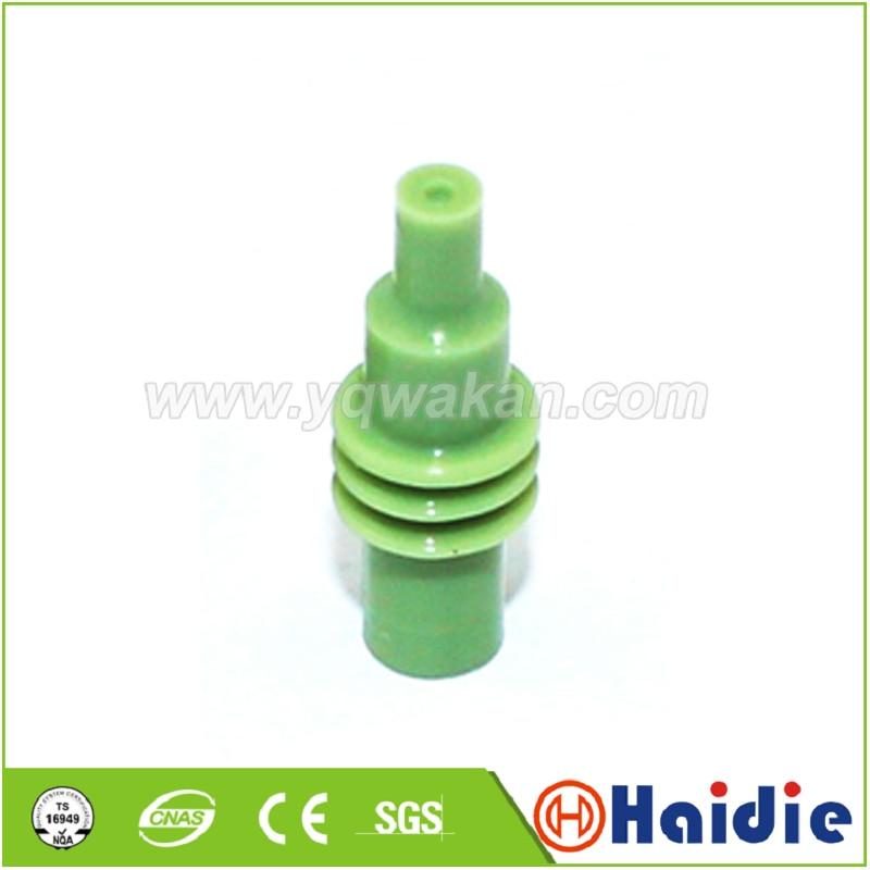 Frete grátis 100 pçs automotivo plug cego selo de borracha hdy1380 12010300 manequim super selos fio para conector automático