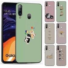 Mobile Phone Case Soft black for Xiaomi Redmi 4A 4X 5 5A 5 Plus 6 6A 6 Pro 7A 8A S2 Go K20 Pro Cover Cute Shiba Inu