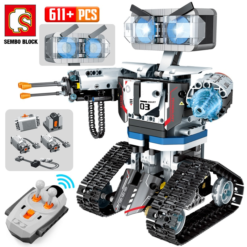 aliexpress.com - NEW SEMBO High-Tech RC Robot Building Blocks Creator City Remote Control Intelligent Robot Car Weapon Brick Toys For Children
