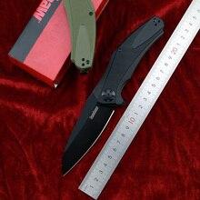 OEM Kershaw 7008 folding knife 8Cr13Mov blade G10+ steel handle camping hunting fruit knife EDC tool