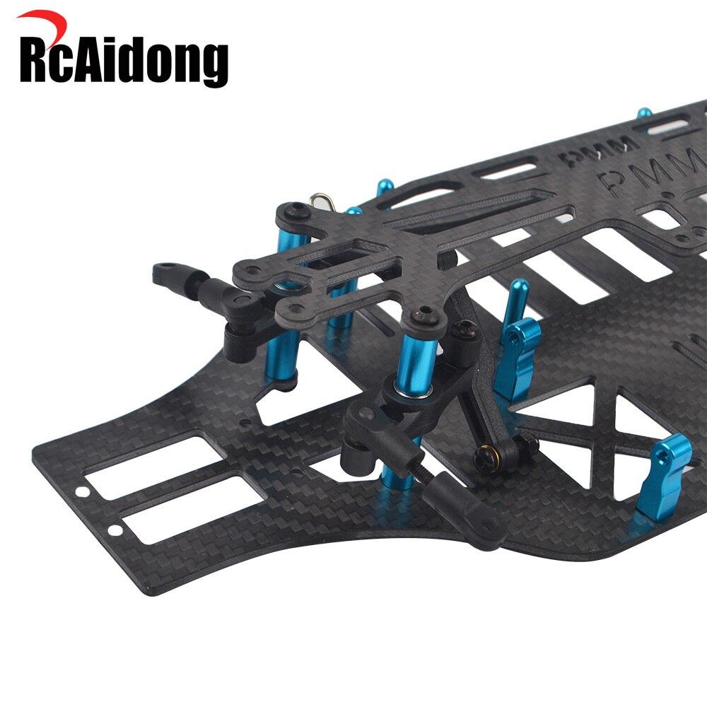 Carbon Fiber Chassis Frame Kit for Tamiya TT01/TT01E/TT01D 51001 RC Drift Car Upgrades Parts enlarge