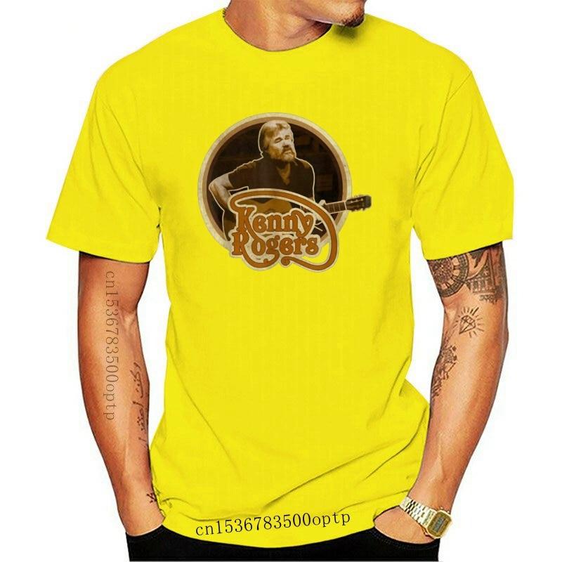 New Kenny Rogers Men T-Shirt Size S-5Xl Fitness Tee Shirt 2021 Fashion Design