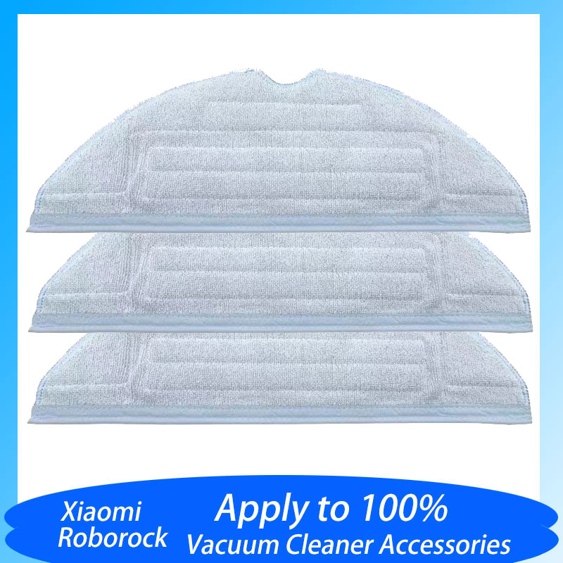 Replacement Mop Cleaning Cloth Accessories For Roborock S7/T7 Plus Robot Vacuum Cleaner Spare Parts High Quality 100%