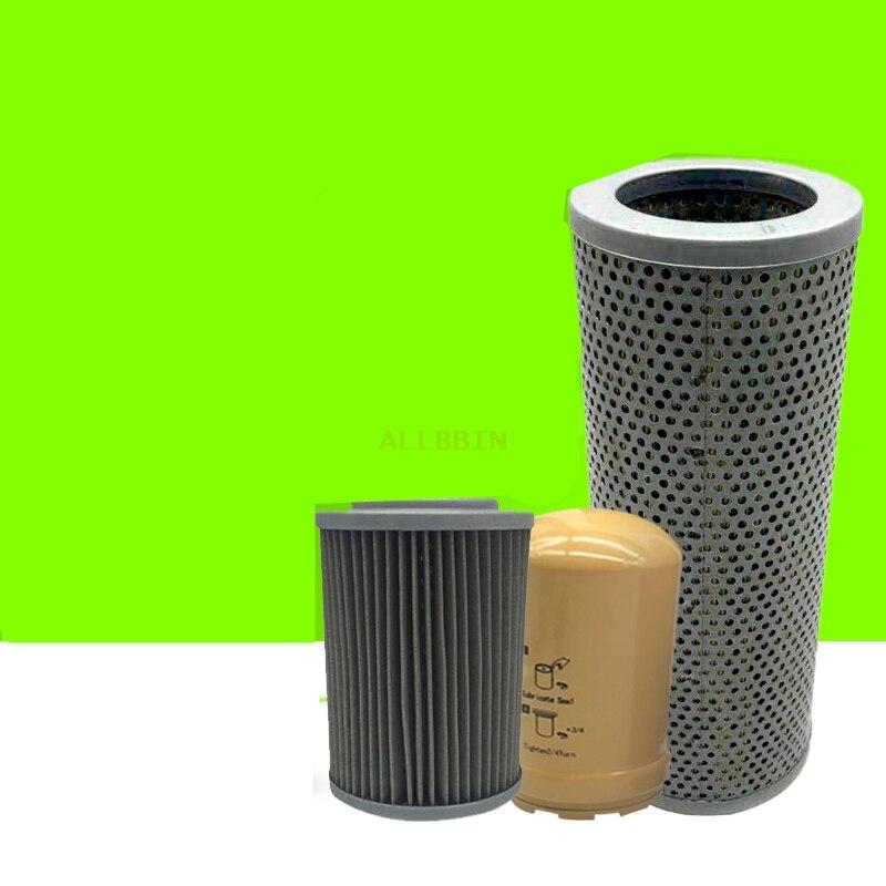 Filtro de aceite hidráulico para excavadora CATERPILLAR CAT307C 307D Filtro de rejilla de retorno de aceite Filtro de cobre accesorio de excavadora