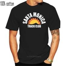 T-shirt Santa Monica Track Club, XS-3XL, avec des boulons