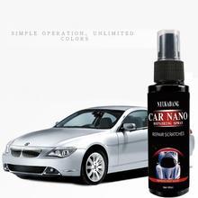 60ml Auto Car Scratch Coating Agent Repair Nano Spray Oxidation Ceramic Coat Automotive Refurbishing