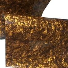 "16 ""x 60"" tigre listras 0.50mm celulóide folha diy instrumento musical deco tambor wrap"