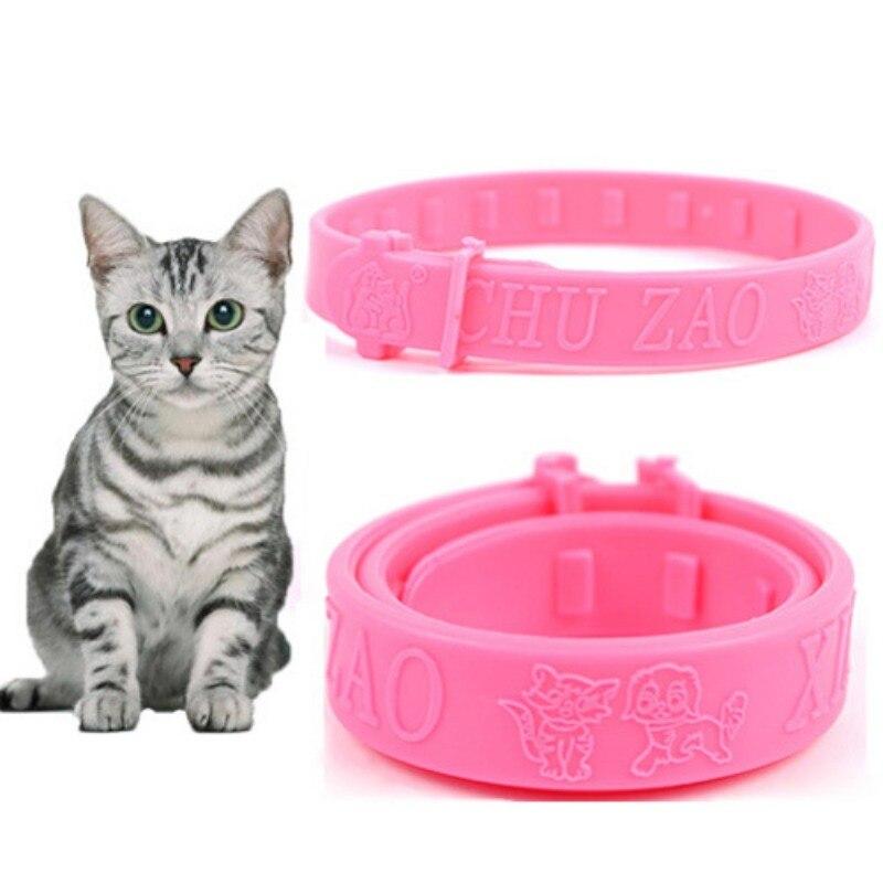 2020 nova moda bonito venda quente ajustável gato gato colar proteção pescoço anel pulga carrapato piolho remédio coleira para gato