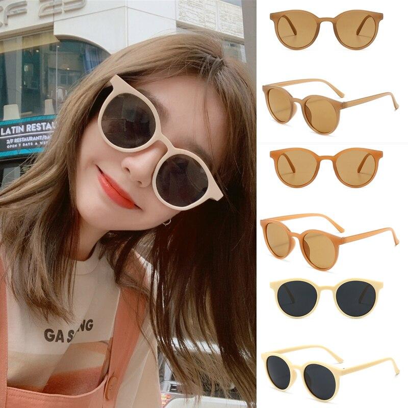 2021 Celebrity Style Fashion Retro Small Round Sunglasses Women Men Fashion Vintage Brand Sun Glasse