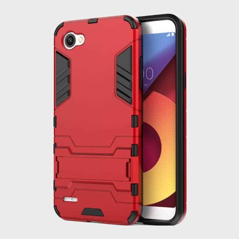 Katychoi Iron Man Shock Proof Case Voor Lg Q6 G7 V30 Telefoon Case Cover