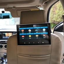 11.8 Polegada monitor do carro encosto de cabeça 1920x1080 4 k tela hd com wifi bluetooth para toyota android 8.1 banco traseiro entretenimento sistema