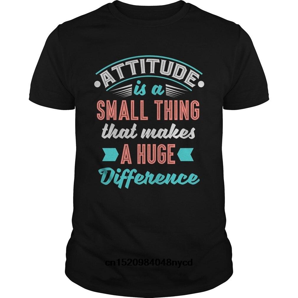 Attitude Small Thing Makes Huge Difference Anti Bully Shirt Fashion tshirt men t-shirt