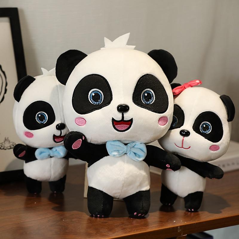Animal Stuffed Toy Dolls for Children Boys Baby Birthday Christmas Gift BabyBus 22-55cm Cute Panda P