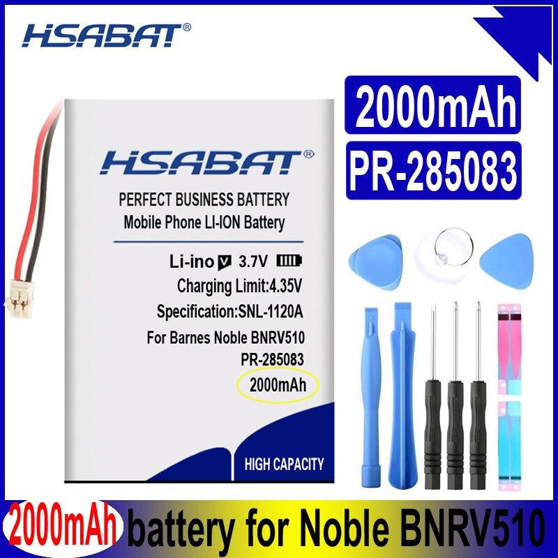 PR-285083 batería de 2000mAh para Barnes & Noble BNRV510 Nook Glowlight Plus 2015 Kobo Glo HD H2O e-book aura edition
