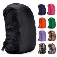3545l rain cover for backpack waterproof hiking bag coating dustproof camping mountaining bag protector for outdoor