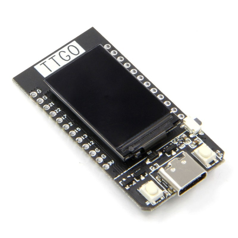 T-DISPLAY ESP32 LCD DIY Enthusiast Development Board For Arduino WiFi And For Bluetooth Dual Module Accessories