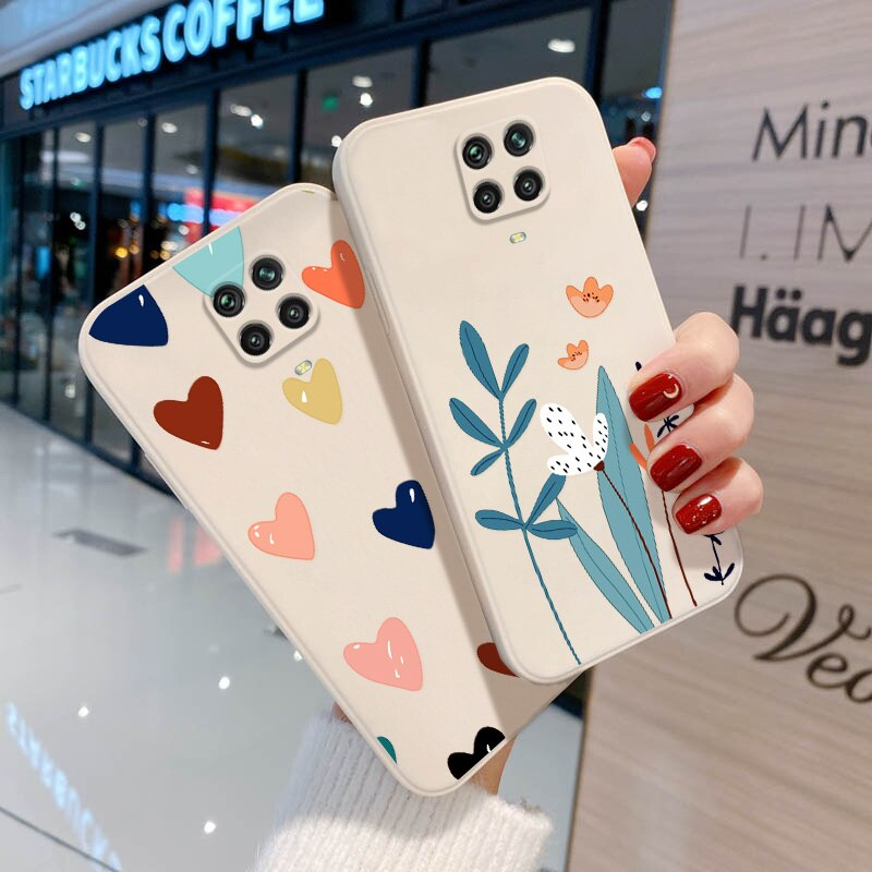 Redmi Note 9 Case Fundas for Xiaomi Redmi Note 10 9 Pro 8 10S 9S 9C 9A 9T 10X Poco X3 NFC M2 Cover Silicon Len Protection Coque rugged shield silicone case for xiaomi poco m3 x3 nfc military heavy duty protection hard phone cover for xiaomi mi 10t 10 note10 redmi note9s note 9