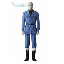 Axe de haute qualité pouvoirs Hetalia italie uniforme Cosplay Costume, personnalisé parfait pour vous!
