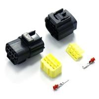 8 контактов 1,8 мм Штекерный Разъем Автомобильный разъем герметичные водонепроницаемые соединения проводки автомобильный разъем для кислор...