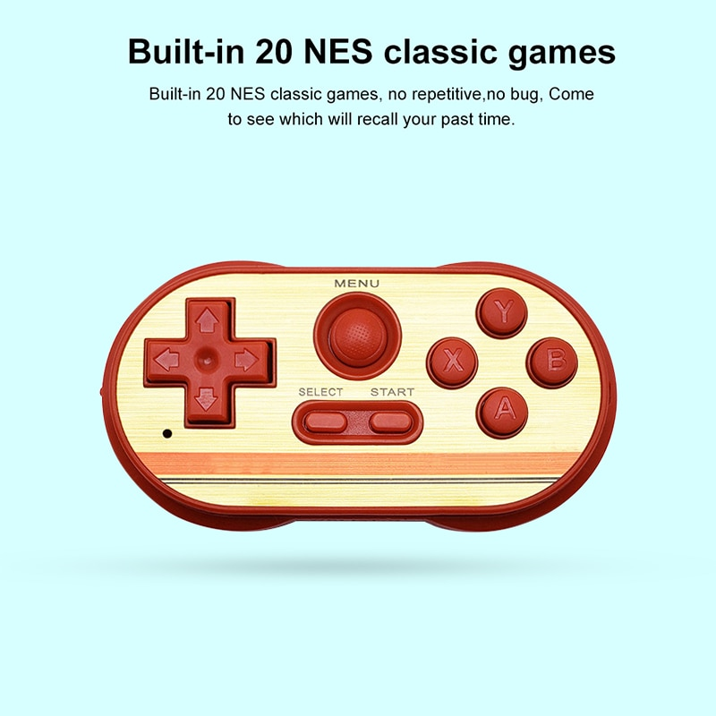 Портативный 8-битный портативных игровых игровая консоль Mipad консоль мини ТВ портативная игровая консоль с учетом легко Управление