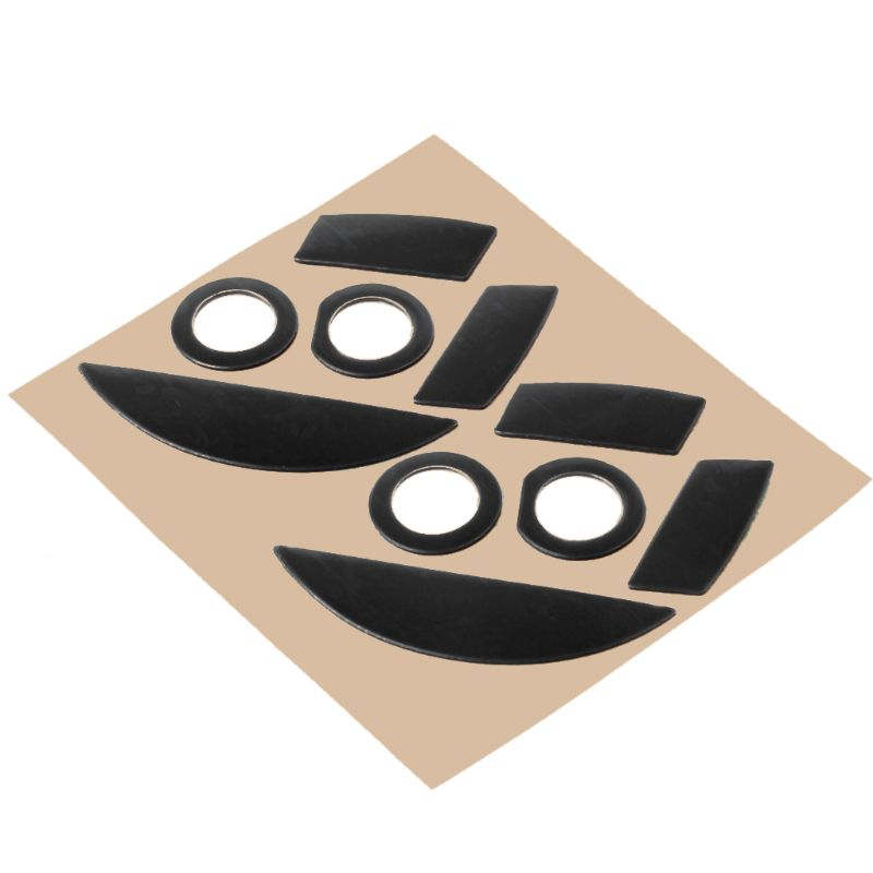 2 juegos de Línea Directa originales Juego de 2 juegos de nivel de competición patines de ratón Gildes para Razer Mamba 5G/Mamba 2015 Chroma 5G