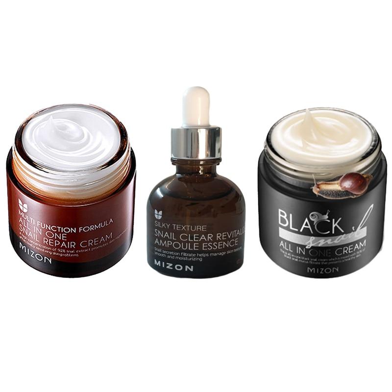 MIZON Black Snail All in One Cream Face Lifting Cream Black Snail All in One Cream Anti Wrinkle Scar Acne Treatment Facial Serum
