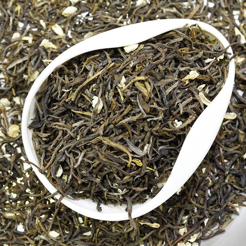 2020 الصين زهرة الياسمين شاي أخضر حقيقي عضوي جديد أوائل الربيع الياسمين الشاي لتخفيف الوزن الأخضر الغذاء الرعاية الصحية