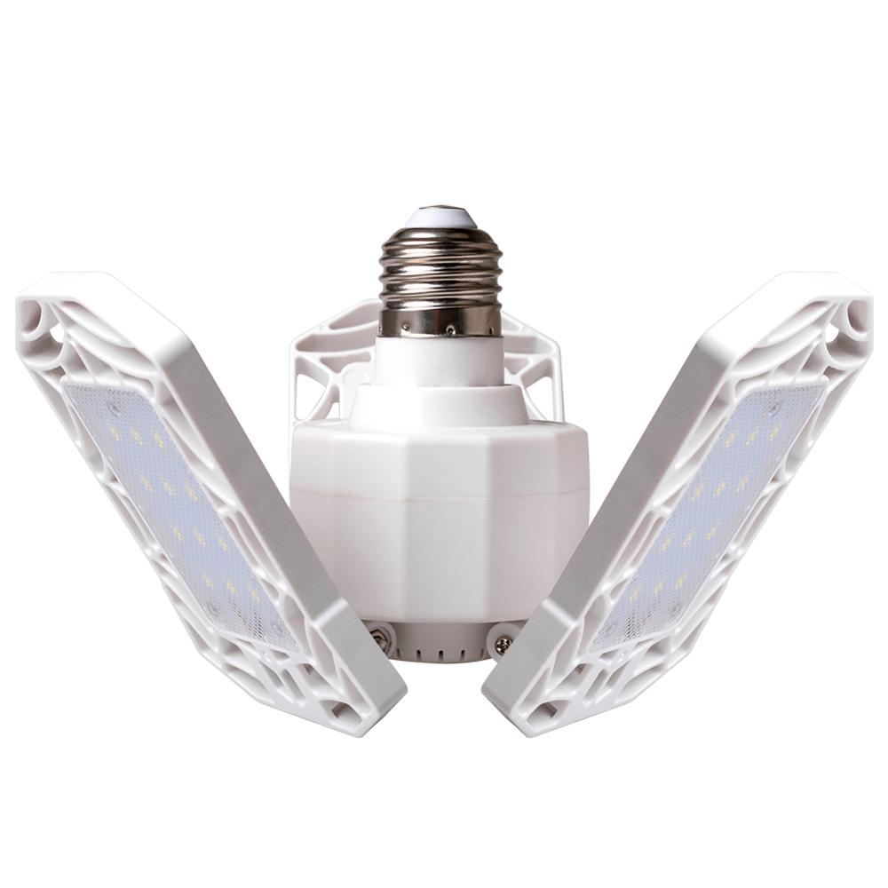 AC85-265V 30W UFO LED Garage Light Lamp With 3 LED Lamp Heads E27 Industrial Lighting Workshop Light For Warehouses Basement