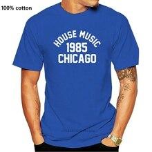 Maison musique 1985 Chicago hommes drôle unisexe T-Shirt