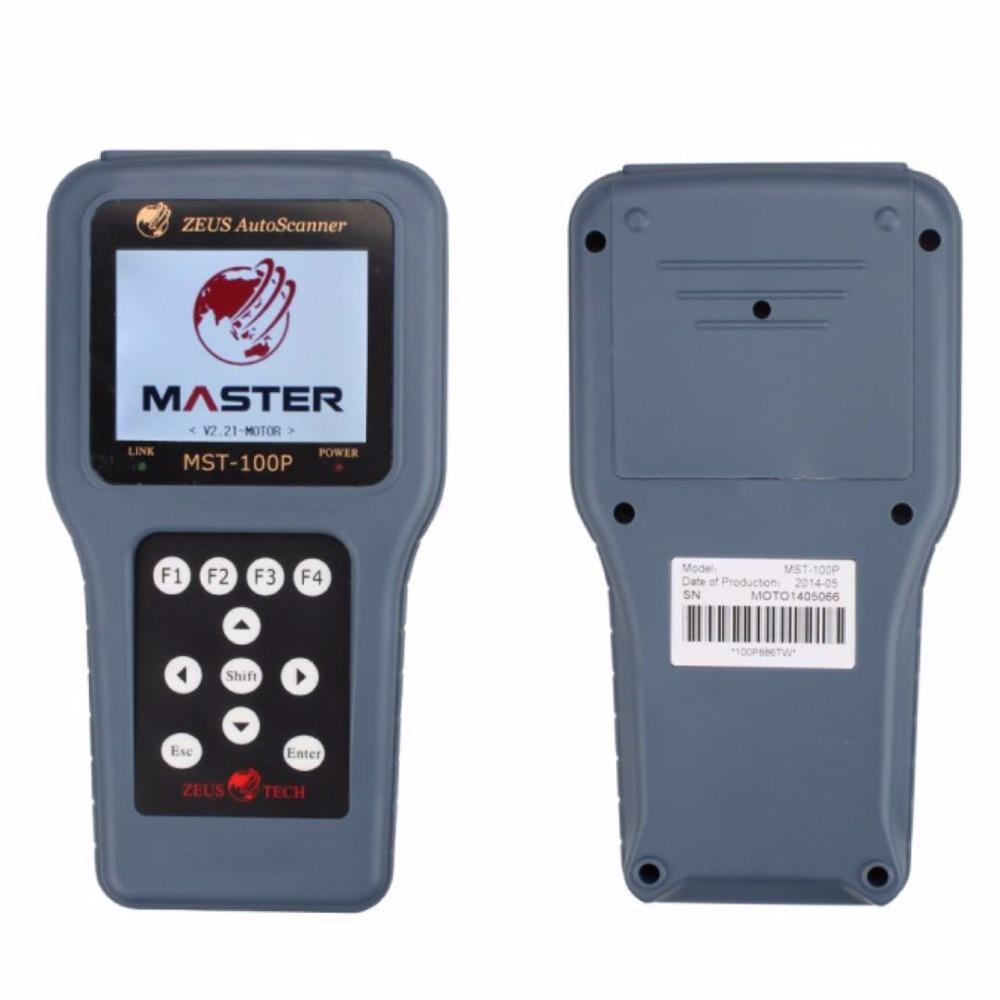 Escáner de motocicleta con función de programación de llaves, MST-100P para Yamaha, Honda, Suzuki