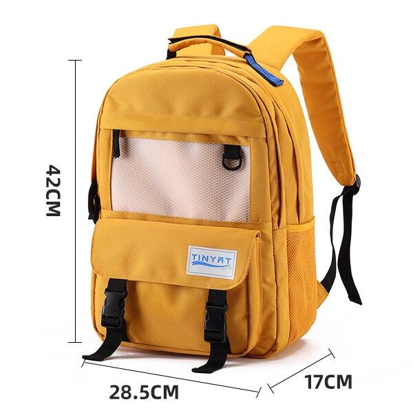 Tinموديلات حقيبة من القماش النساء الرجال على ظهره للمراهقين للجنسين مدرسة Mochila 15'laptop ظهره مقاوم للماء تسلق ظهره 20L