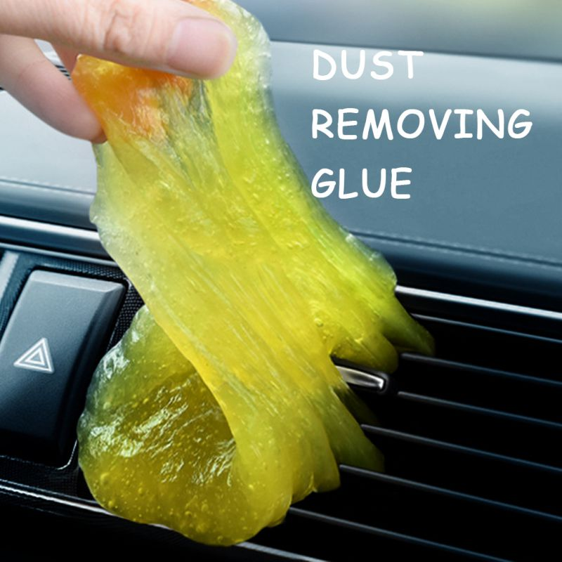 Pegamento de limpieza suave Universal Gel de sílice para ventilación de coche ordenador portátil teclado adsorción de polvo limpiador de suciedad 160G