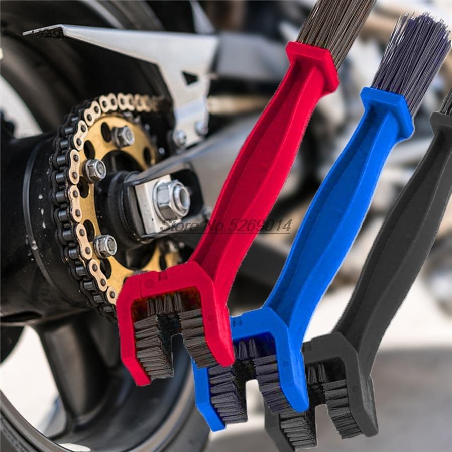 Motocicleta Cadeia Escova Cleaner Capas para aftermarket kx450f vtr1000f honda vfr 800 yamaha r15 v3 mt 09 tracer honda ktm