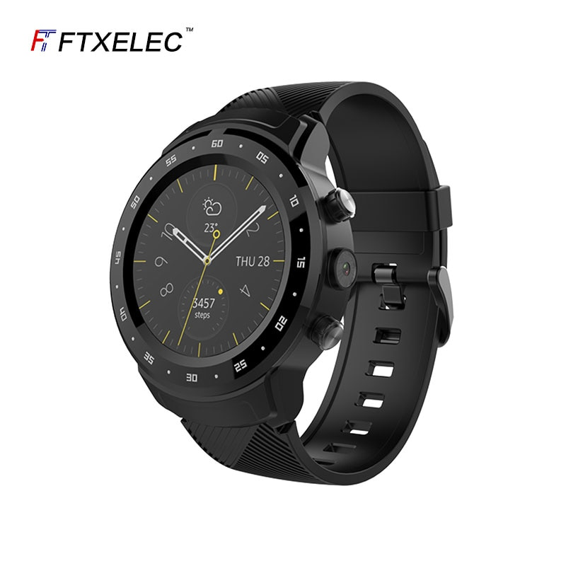 Get Android 4g smartwatch phone adult wifi plug in SIM card  call GPS positioning waterproof Smart watch